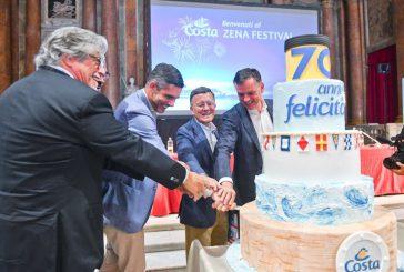 Costa Crociere festeggia i 70 anni e annuncia costruzione 7 nuove navi