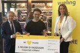 Vueling festeggia a Malpensa i 6 mln di pax e conferma sua presenza a Milano