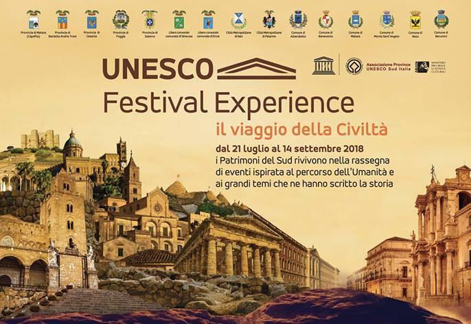 Risultati immagini per UNESCO, ARRIVA IN CAMPANIA IL PROGETTO CHE METTE IN RETE 5 REGIONI SUD ITALIA