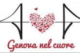 Ponte Morandi, t-shirt con il logo 'Genova nel Cuore' per raccogliere fondi