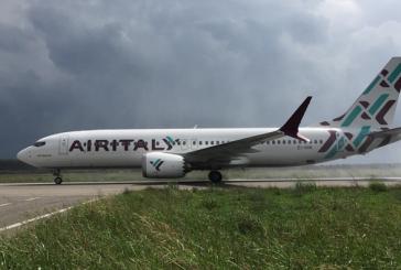 Air Italy, debutta il primo volo diretto tra  Milano Malpensa e Lamezia Terme