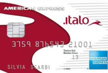 Tanti vantaggi con la carta Italo American Express