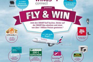 Eurowings lancia 'FLY & WIN' e mette in palio 1 milione di premi