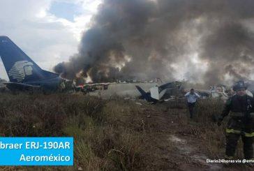 Decollo non riuscito in Messico: cade aereo, nessun morto