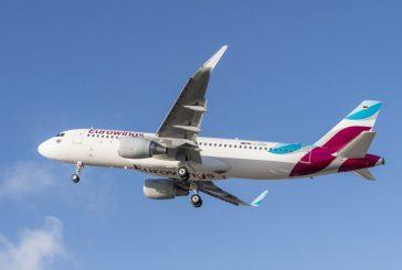 Eurowings lancia nuovi voli per Lanzarote e La Palma