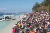 Turisti in fuga da Lombok e Gili dopo il terremoto