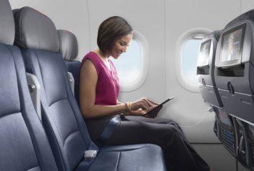 Diretta tv sui voli interni negli Usa a bordo dei voli American Airlines