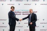 Air Italy inaugura il Milano-Bangkok, in inverno i voli diventeranno 5