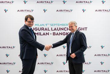 Air Italy festeggia con cena di gala a Bangkok il volo diretto da Milano