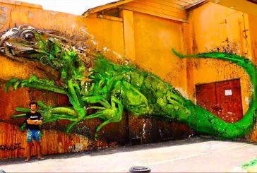 La street art di Aruba su muri, edifici e strade di San Nicolas