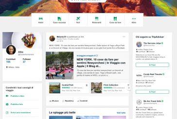 TripAdvisor diventa social: i viaggiatori potranno seguire amici, brand e influencer