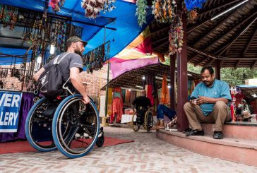 Tappa in Kenya per le carrozzine di Danilo e Luca con 'Viaggio Italia – Around The World'