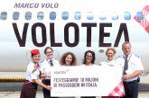 Volotea raggiunge quota 10 milioni di passeggeri in Italia