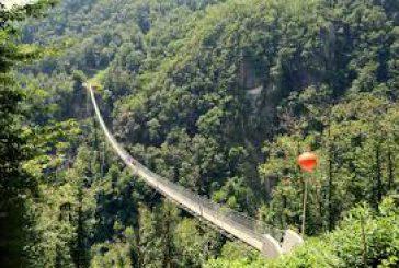 É in Valtellina il 'ponte tibetano' più alto Europa