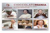 Eurochocolate svela i primi protagonisti di 'Cioccolatomania'