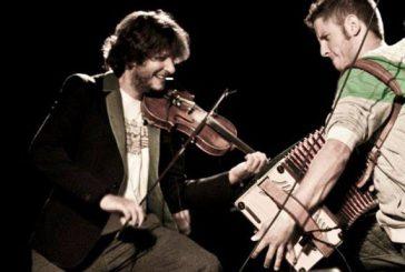 La fisarmonica suona per il Grand Tour delle Marche a Castelfidardo