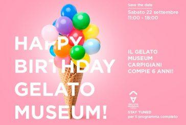 Eventi, mostre e degustazioni per il 6° compleanno del Gelato Museum