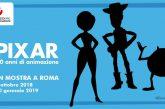Da ottobre a Roma una mostra sui 30 anni della 'Pixar'