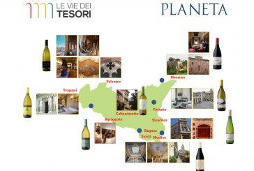 Con Planeta alla scoperta dei vini in 20 diversi tesori dell'Isola