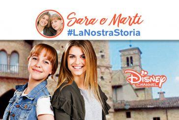 Bevagna, Paparelli visita il set di 'Sara e Marti-La nostra storia'
