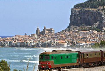 Da Palermo a Cefalù in treno storico mangiando gelato