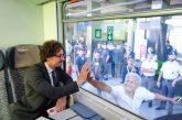 FS, Toninelli inaugura nuovi Intercity in Calabria