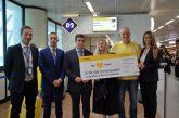 Vueling festeggia i 20 mln di pax a Fiumicino e lancia un concorso