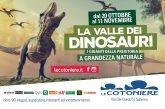 Salerno, i dinosauri invadono il Centro Le Cotoniere