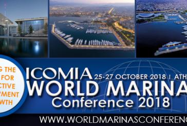Assomarinas ad Atene per la Conferenza mondiale dei porti turistici