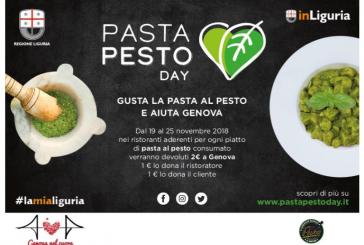 Con 'Pasta Pesto Day' mangi al ristorante e aiuti Genova