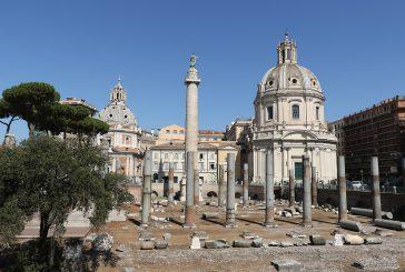 Foro Traiano sarà riunito nel 2019, a dicembre si parte con lavori per 6 mesi
