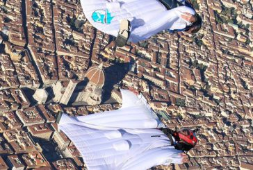 Al via a Firenze i lanci con paracadute di Skydive Dream
