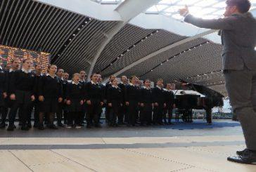 Ancora lirica all'aeroporto di Fiumicino: ieri performance del Coro di Voci Bianche