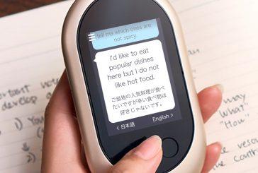 In Italia sbarca Pocketalk: il dispositivo per la traduzione vocale istantanea
