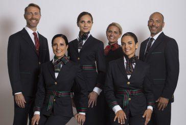 Alitalia, oggi debuttano le nuove divise firmate Alberta Ferretti