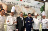 Al via la Settimana della cucina italiana nel mondo