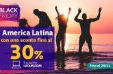 America Latina più vicina con il Black Friday di Latam
