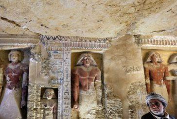 Egitto, scoperta tomba di 4.400 anni fa perfettamente conservata