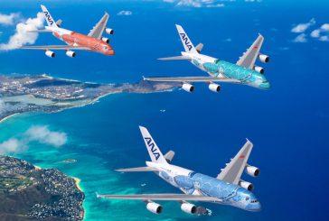 ANA, servizio esclusivo a bordo del primo A380 giapponese, operativo da maggio 2019