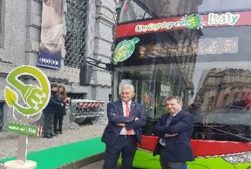 Presentato a Milano il bus elettrico di City Sightseeing Italy