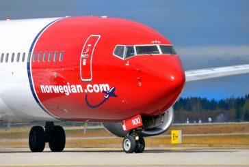 Norwegian da giugno collegherà Napoli con Oslo 2 volte a settimana