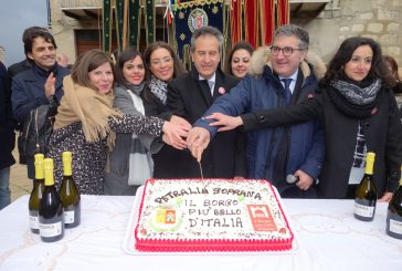 A Petralia Soprana festa per l'elezione a borgo più bello d'Italia