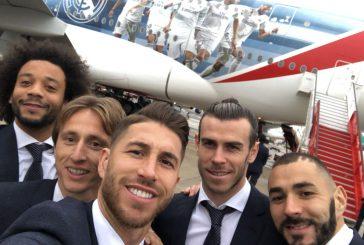 Emirates dedica al Real Madrid una decalcomania sul suo A380