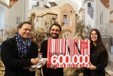 Il Mann festeggia 600millesimo visitatore e apre anche a Natale e Capodanno