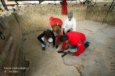 Ercolano, al via distacco mosaico in Casa dell'Albergo. Si parte con il restauro