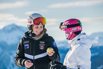 Sciare con le mele Marlene sulle piste dell'Alto Adige – Südtirol