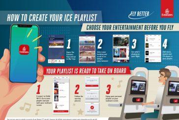 Emirates mette a disposizione nuova app per creare playlist personalizzate