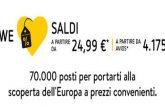 Vueling mette a disposizione 70.000 posti da 24,99 euro per volare da febbraio a giugno