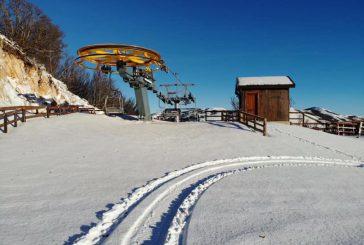 A Piano Battaglia impianti e piste chiuse, ma la neve c'è