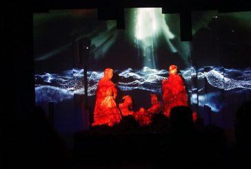 Più di mille visitatoriall'installazione di video art sul Natale a Petralia